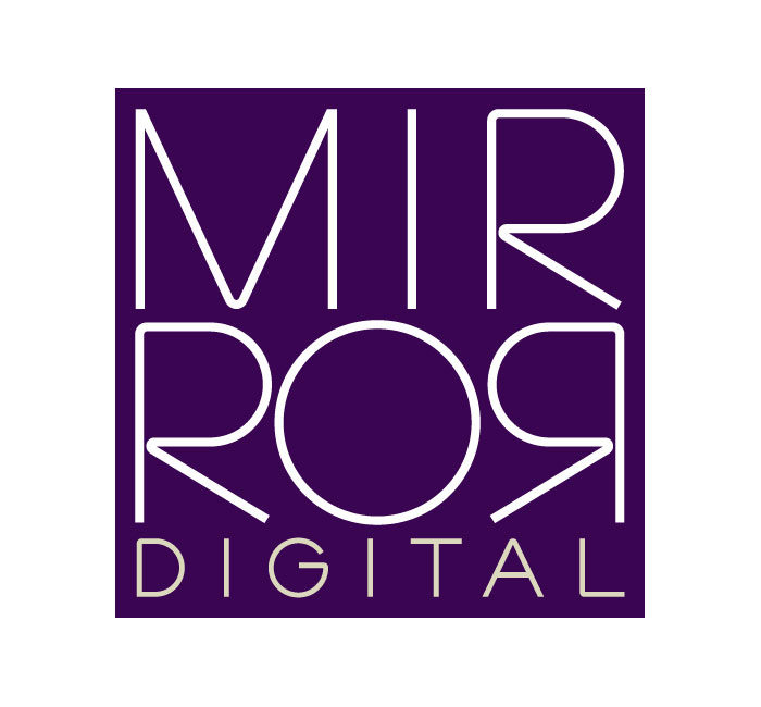 Mirror-Digital-logos-template